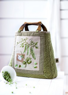 'Le petit pois' shopping bag
